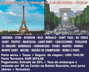 GRANDE TOUR DA FRANÇA